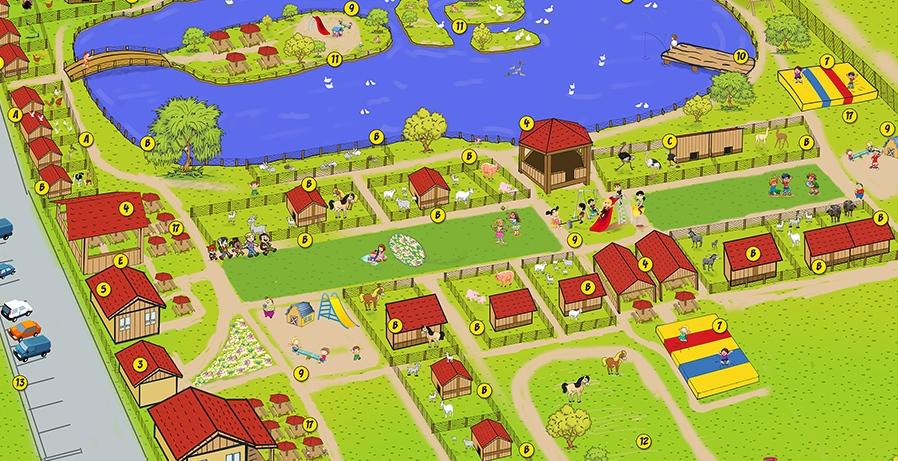 Harta fermei
