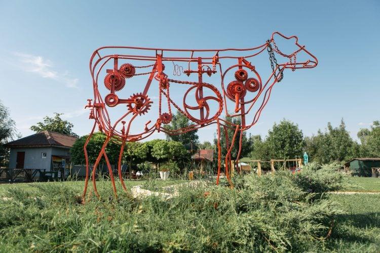 Vacă mecanizată