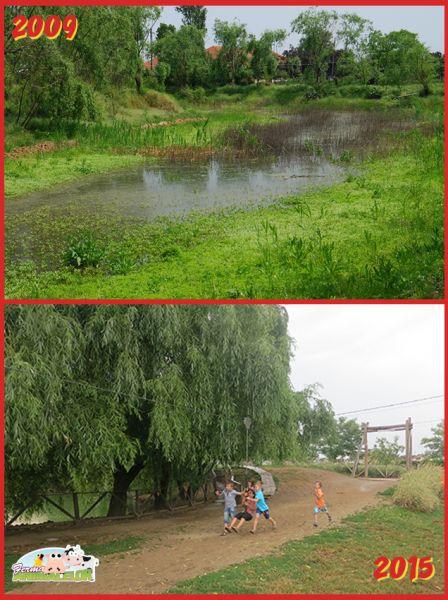 Lacul și tiroliana