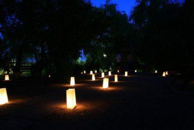Lumini romantice pe insulă